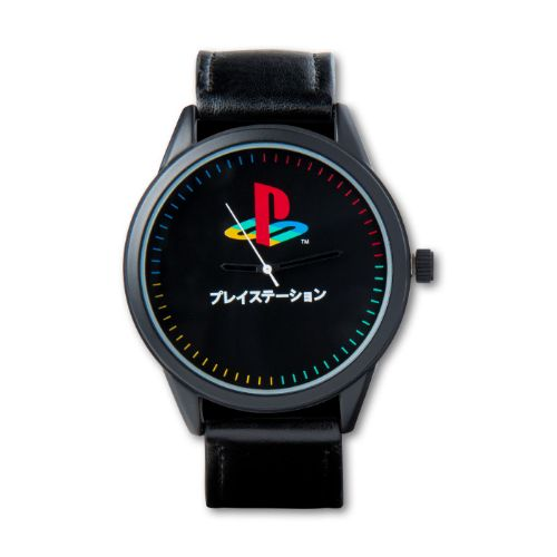 Black Logo Watch