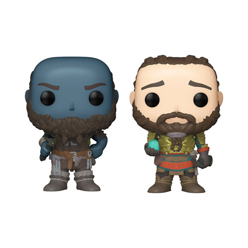 Funko Pop! Games-God of War-Broc and Sindri 2 Pack