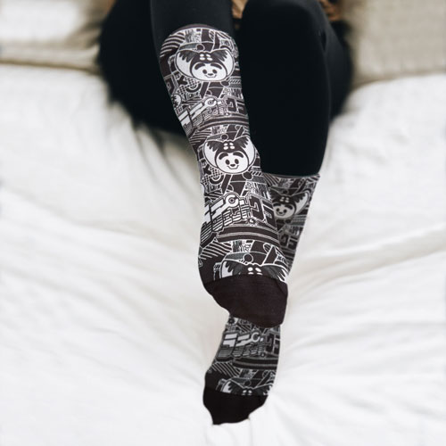 Ratchet & Clank: Rift Apart Retro Chic Socks
