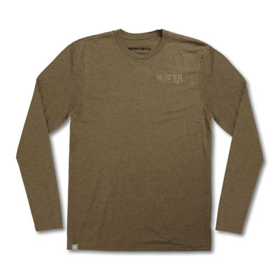 The Last of Us Part II Embroidered Logo Long sleeve Tee - Military Green
