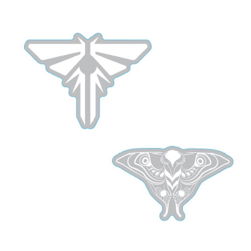 The Last of Us Part II Sticker Set – Pack of 2