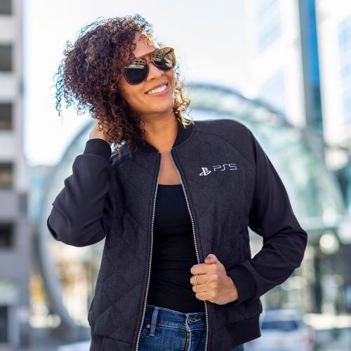 Women's PS5™ Quilted Bomber Jacket