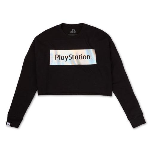 Women's Iridescent Semi-Crop Shirt
