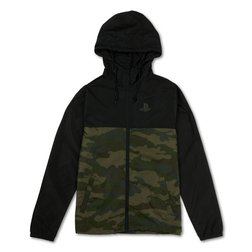 PlayStation™ Color Block Camo Jacket