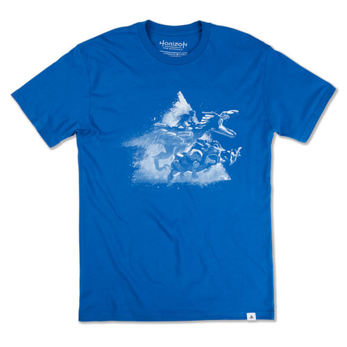 Horizon Forbidden West Aloy Riding - Blue Tee