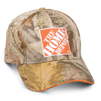 Camo Sandwich Bill Hat