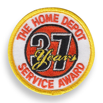 37 Years of Service Patch