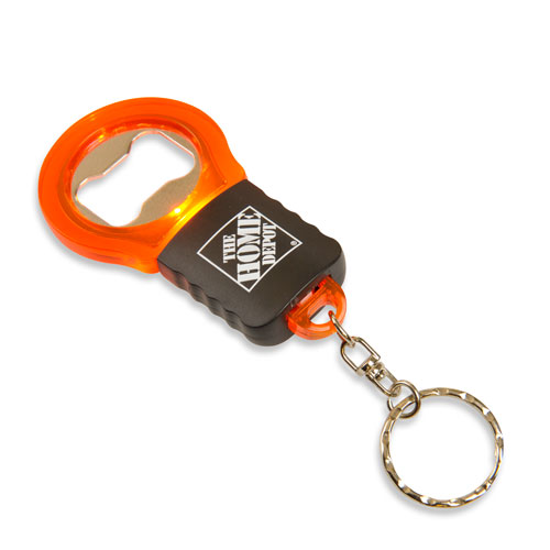 Bottle Opener Light-Up Keychain