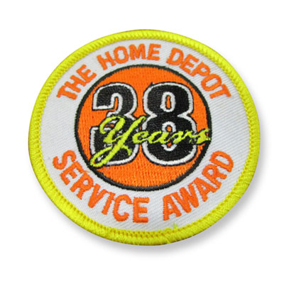38 Years of Service Patch