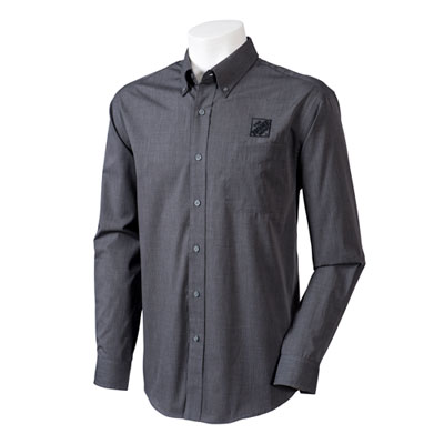 Easy-Care Crosshatch Dress Shirt