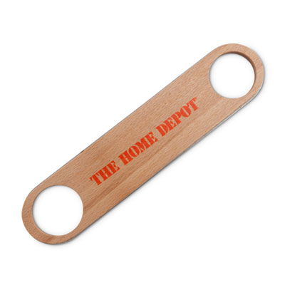 Wood Paddle Bottle Opener