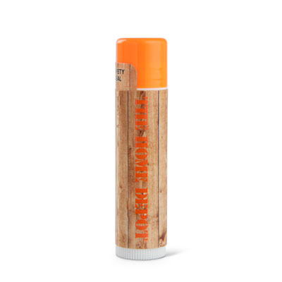 Tangerine Lip Balm with SPF 15 Protection