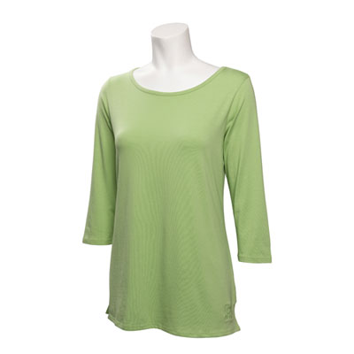 Ladies Ballet Neck 3/4-Sleeve Shirt