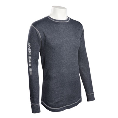Vintage Long-Sleeve Thermal Shirt