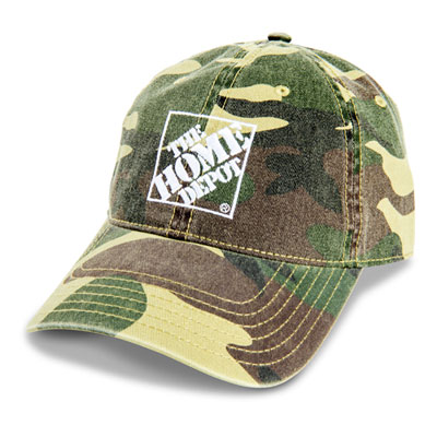 Twill Camo Hat