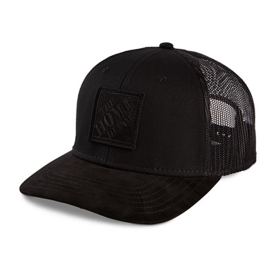 Black Camo Mesh Back Hat