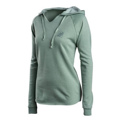 Ladies Big Sur Washed Fleece Hoodie
