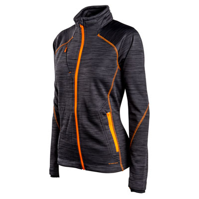 Ladies Flux Melange Fleece Jacket
