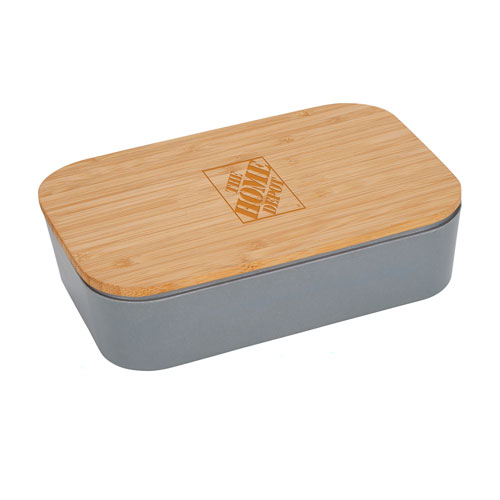 Lunch Box with Bamboo Cutting Board