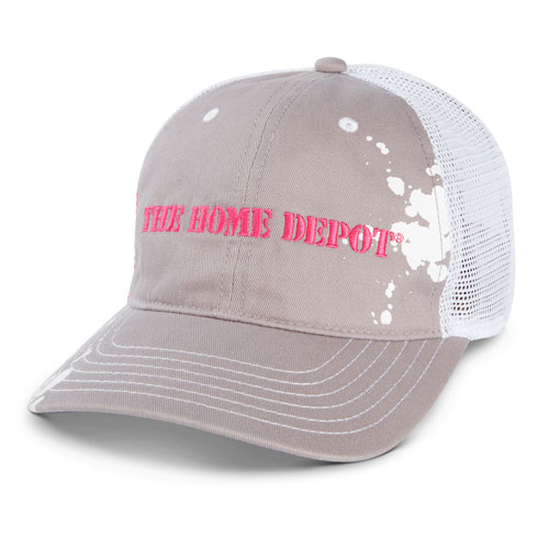 Ladies Paint Splatter Mesh Hat