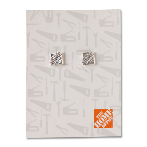 Stud Earrings – Silver
