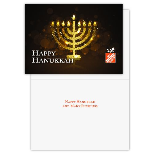 Happy Hanukkah Cards (Pack of 25)