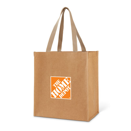 Washable Kraft Paper Grocery Tote