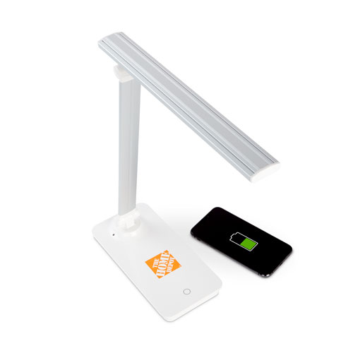 LED Lamp with Wireless Charging Base