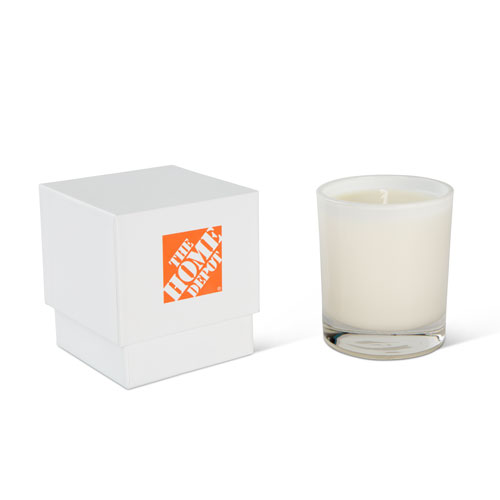 White Balsam and Cedar Glass Candle