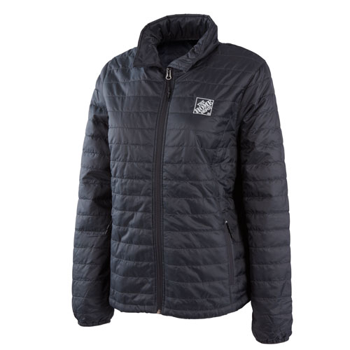 Ladies Packable Puffy Jacket