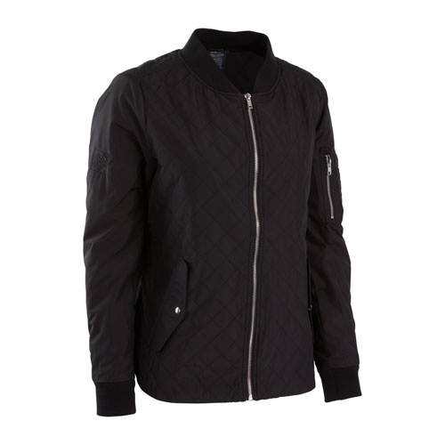 Ladies Quilted Boston Flight Jacket