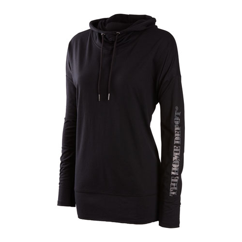 Ladies Studded French Terry Hoodie