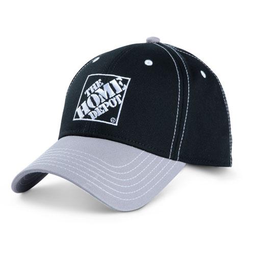 Contrast Visor Cap – Black