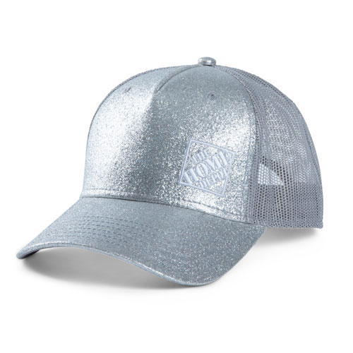 Ladies' Glitter Ponytail Cap
