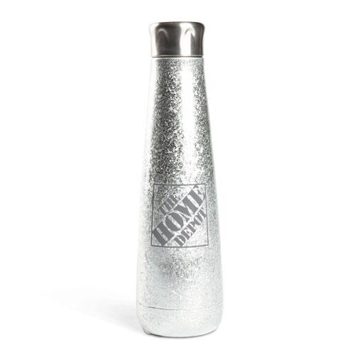 Metallic Ice Tapered Thermal Bottle