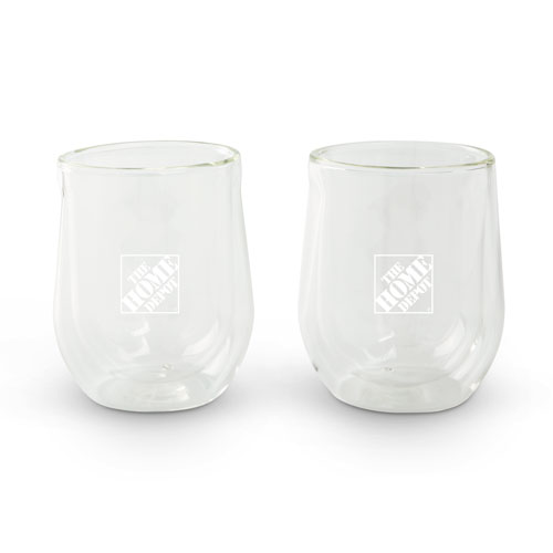 Corksicle Stemless Glasses (Set of 2)