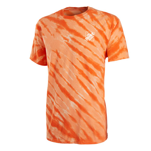 Tiger Stripe Tie-Dye T-shirt
