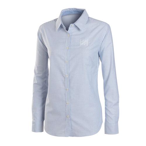 Ladies' SuperPro™ Striped Oxford Shirt