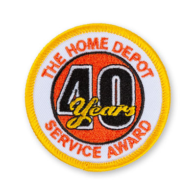 40 Years of Service Patch