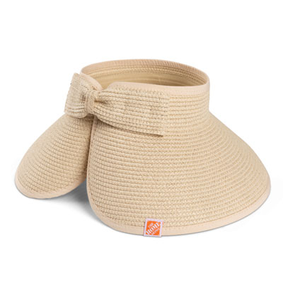 Ladies' Leaf Roll-Up Visor