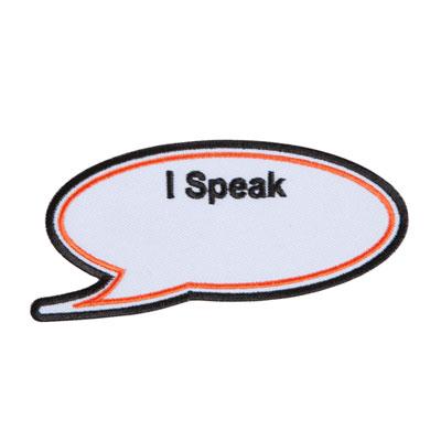 "THD ""I Speak"" Blank Line Patch"