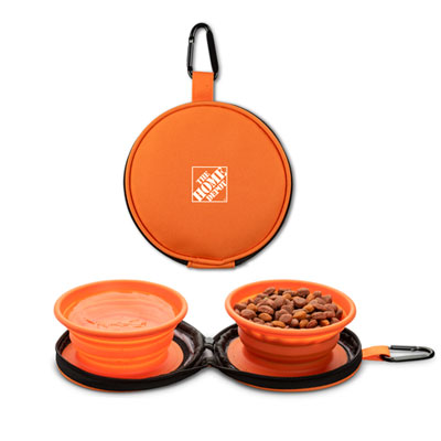 Collapsible Bowls with Case