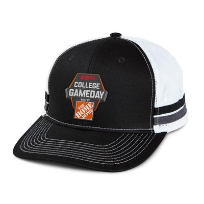 Two-Stripe Trucker Hat
