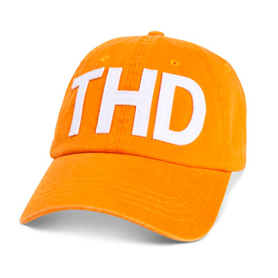 "Orange ""Airport Code"" Hat"