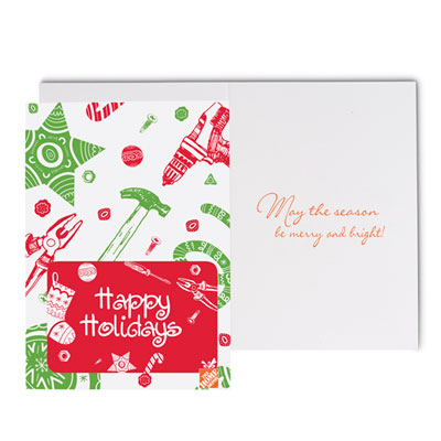 Tools & Stars Holiday Cards (25 Pack)