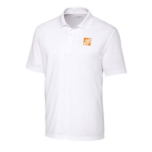 Spin-Dyed Performance Polo – White