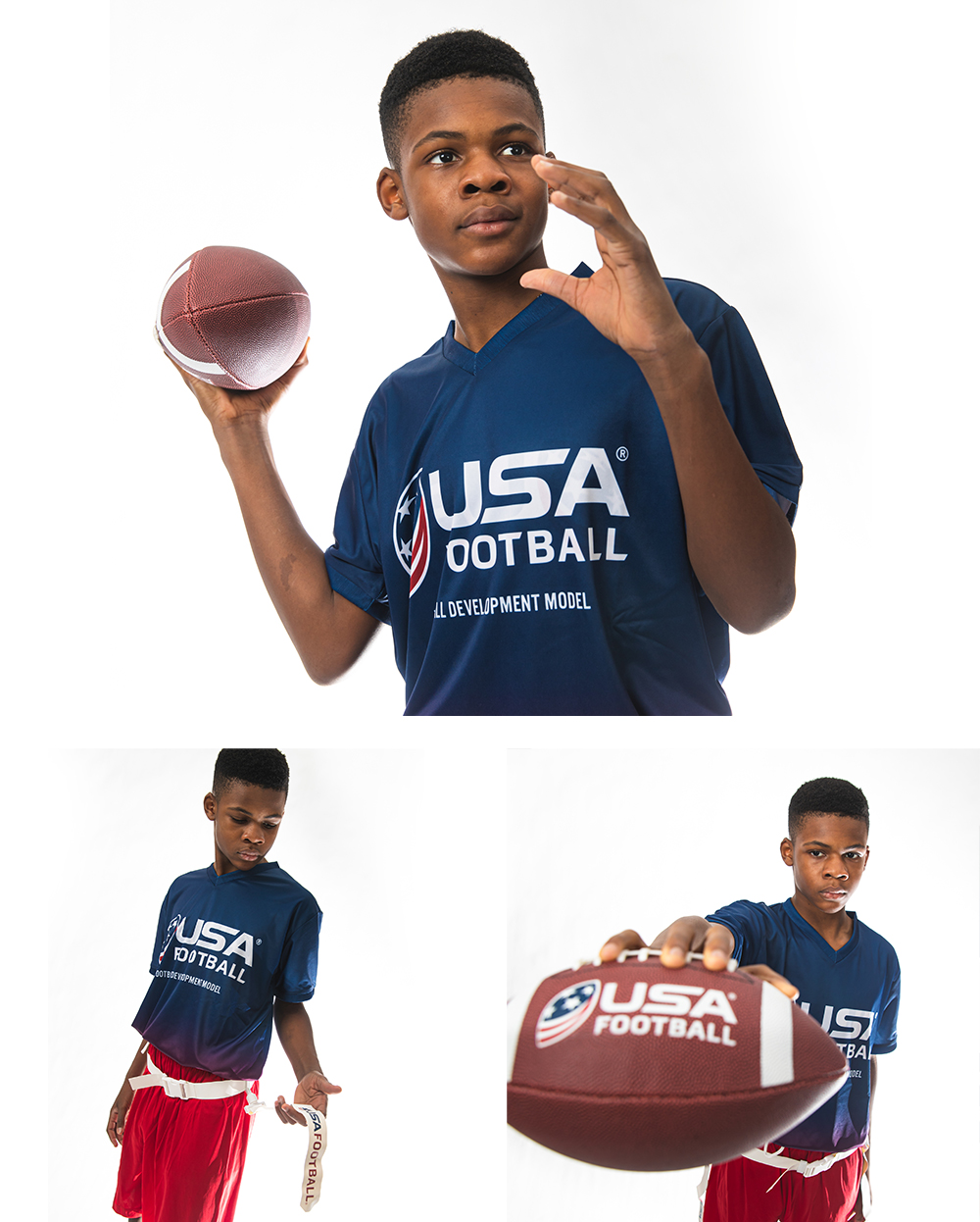 USA Flag Football Jerseys