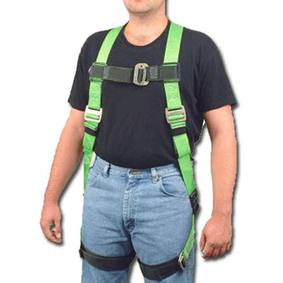 Heavy duty full body harness