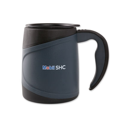 Microwaveable insulated mug