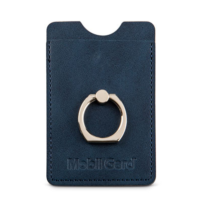 RFID phone wallet with ring holder
